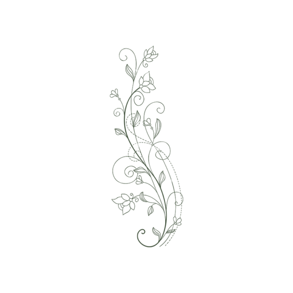 Floral Vector 97 8 5