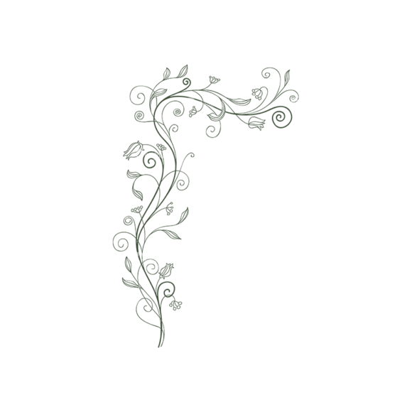 Floral Vector 98 7 5