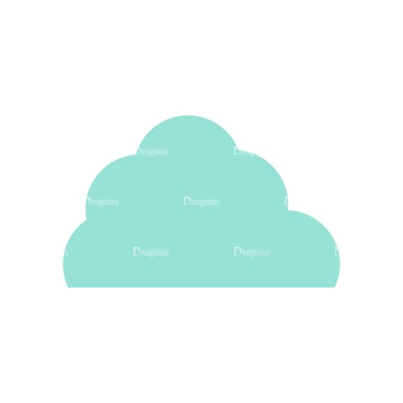 Forest Vector Set 1 Vector Cloud 1