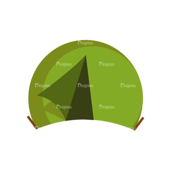 Forest Vector Set 1 Vector Tent 1