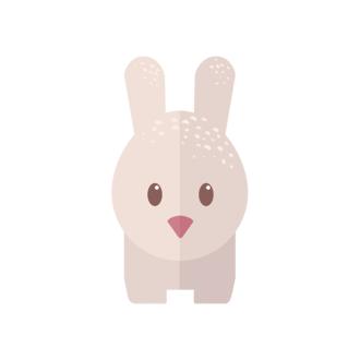 Funny Animals Vector 2 Vector Bunny Clip Art - SVG & PNG vector