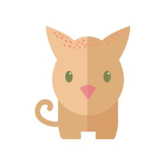 Funny Animals Vector 2 Vector Cat Clip Art - SVG & PNG vector