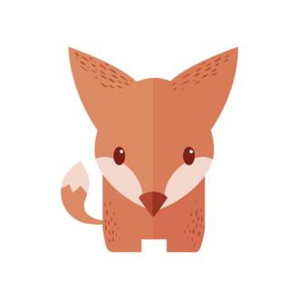 Funny Animals Vector 2 Vector Fox Clip Art - SVG & PNG vector