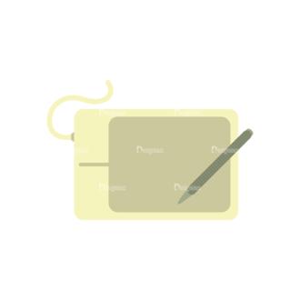 Graphic Designer Vector Tablet 07 Clip Art - SVG & PNG vector