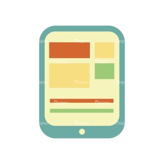 Graphic Designer Vector Tablet 08 Clip Art - SVG & PNG vector