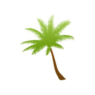 Green Trees Vector Tree 01 Clip Art - SVG & PNG tree