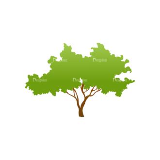 Green Trees Vector Tree 11 Clip Art - SVG & PNG tree