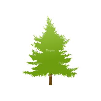 Green Trees Vector Tree 21 Clip Art - SVG & PNG tree