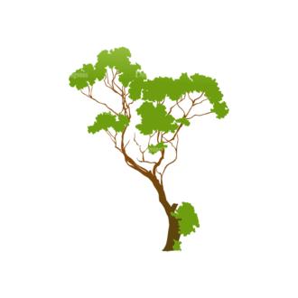 Green Trees Vector Tree 22 Clip Art - SVG & PNG tree