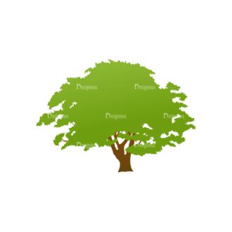 Green Trees Vector Tree 24 Clip Art - SVG & PNG tree