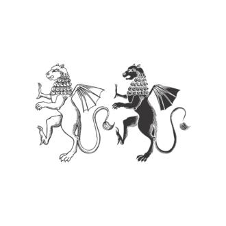 Griffins Vector 1 19 Clip Art - SVG & PNG vector