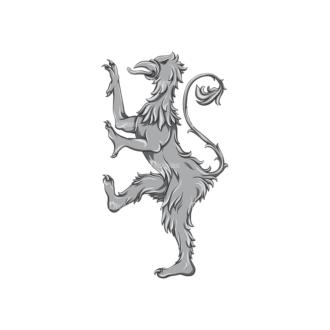 Griffins Vector 3 6 Clip Art - SVG & PNG vector