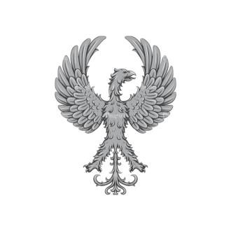Griffins Vector 3 7 Clip Art - SVG & PNG vector