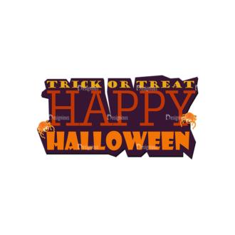 Halloween Kids Vetors Set 1 Vector Happy Hallowen Clip Art - SVG & PNG vector
