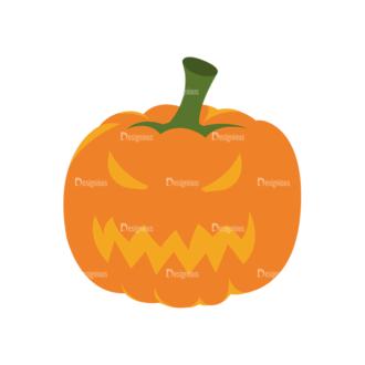Halloween Vector Elements Set 1 Vector Pumpkin 15 Clip Art - SVG & PNG vector