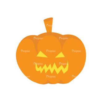 Halloween Vector Elements Set 1 Vector Pumpkin 28 Clip Art - SVG & PNG vector