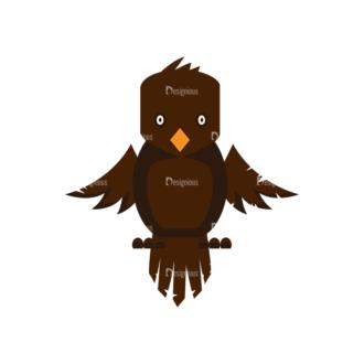 Halloween Vector Elements Set 2 Vector Owl 10 Clip Art - SVG & PNG vector