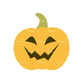 Halloween Vector Set 11 Vector Pumpkin Clip Art - SVG & PNG vector