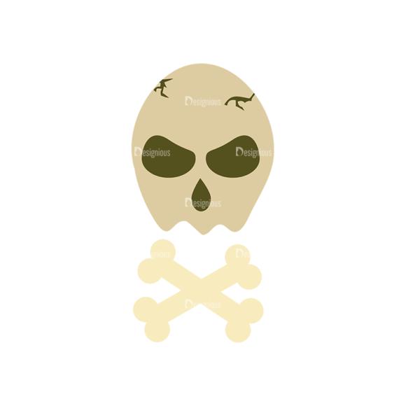 Halloween Vector Set 11 Vector Skull 08 5