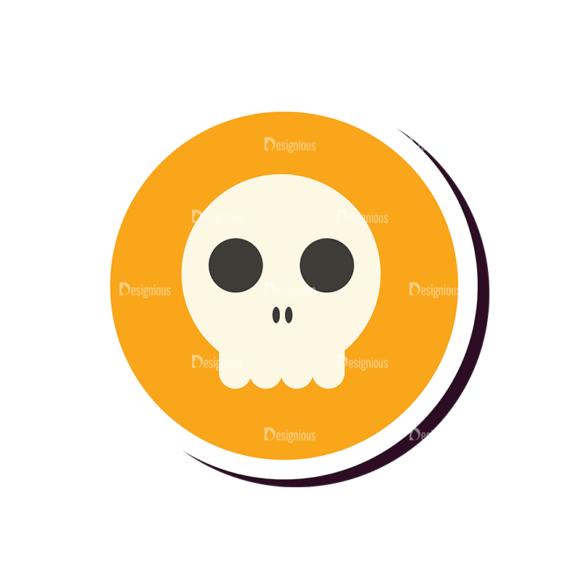 Halloween Vector Set 12 Vector Skull 5
