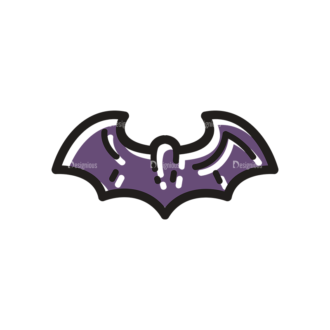 Halloween Vector Set 14 Vector Bat Clip Art - SVG & PNG vector