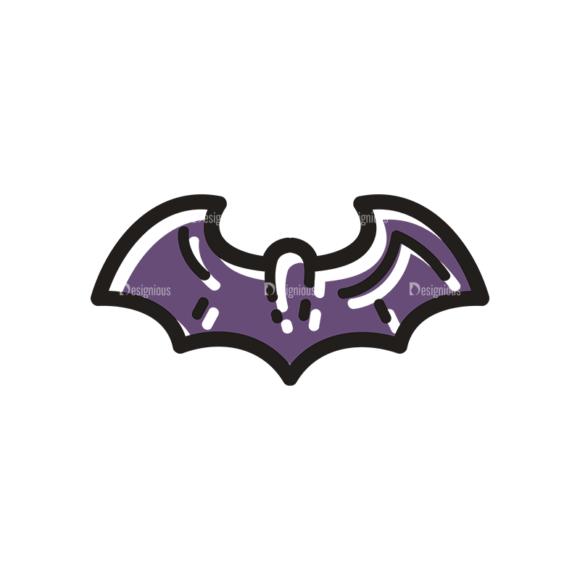 Halloween Vector Set 14 Vector Bat 5
