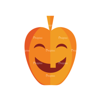 Halloween Vector Set 9 Vector Pumpkin 04 Clip Art - SVG & PNG vector