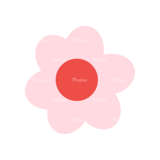 Home Sweet Home Vector Set 1 Vector Flower 10 Clip Art - SVG & PNG vector