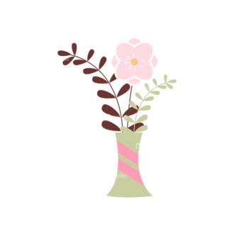 Home Sweet Home Vector Set 1 Vector Flowers 06 Clip Art - SVG & PNG vector