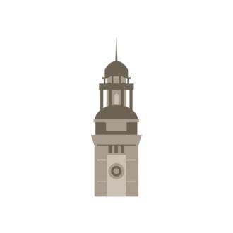 Hong Kong Vector Tower 04 Clip Art - SVG & PNG vector