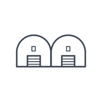House Icons Vector Set 3 Vector Barn Clip Art - SVG & PNG vector