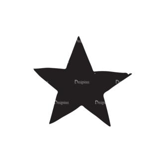 Independence Day Elements Set 2 Vector Star Clip Art - SVG & PNG star