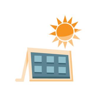 Industrial Vector Set 2 Vector Solar Panel Clip Art - SVG & PNG vector