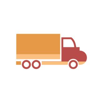 Industrial Vector Set 2 Vector Truck 10 Clip Art - SVG & PNG vector