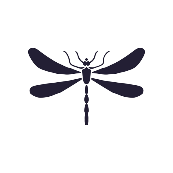 Insectinsects Vector Elements 2S 6 Vector Dragonfly 1