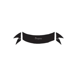 International Day Of Peace Elements Set 1 Vector Ribbon Clip Art - SVG & PNG vector