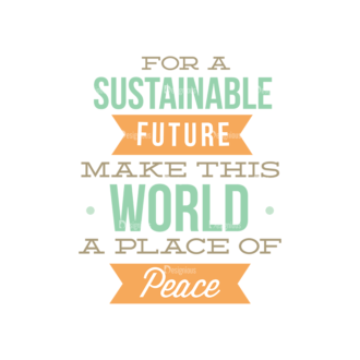 International Day Of Peace Typography 1 Vector Expanded Text 11 Clip Art - SVG & PNG vector