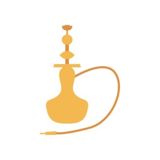 Istanbul Vector Hookah Pipe Clip Art - SVG & PNG vector