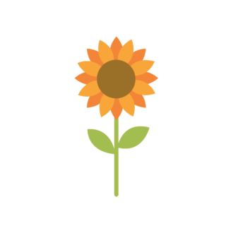 Kiev Vector Sunflower Clip Art - SVG & PNG vector
