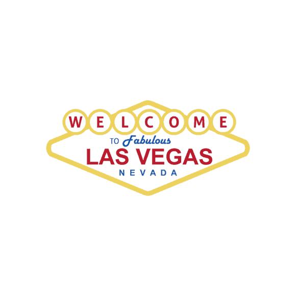 Las Vegas Vector Welcome Sign 1
