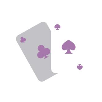 Las Vegas Vector Cards Clip Art - SVG & PNG vector