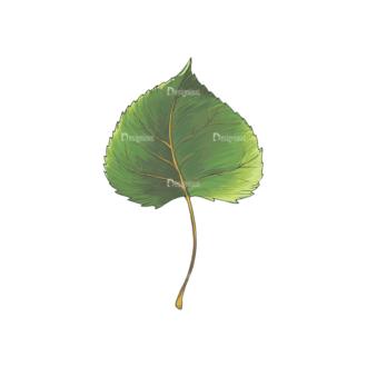 Leaves Vector 2 5 Clip Art - SVG & PNG vector