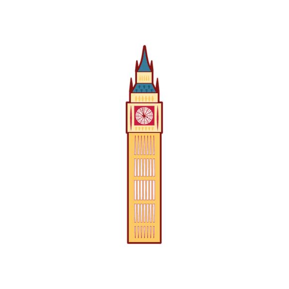 London Symbols Vector Set 1 Vector Big Ben 1