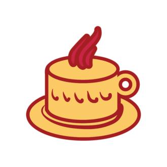 London Symbols Vector Set 1 Vector Tea Cup Clip Art - SVG & PNG vector
