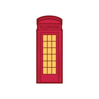 London Symbols Vector Set 1 Vector Telephone Clip Art - SVG & PNG vector