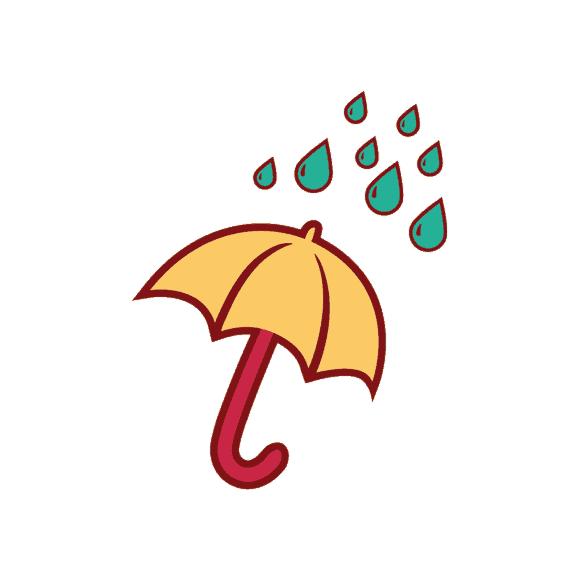 London Symbols Vector Set 1 Vector Umbrella 1