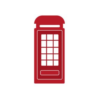 London Vector Telephone Clip Art - SVG & PNG vector
