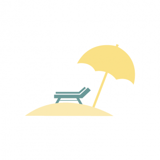 Los Angeles Vector Beach Clip Art - SVG & PNG vector