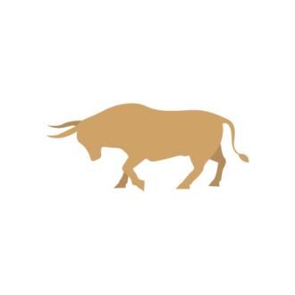 Madrid Vector Bull Clip Art - SVG & PNG vector