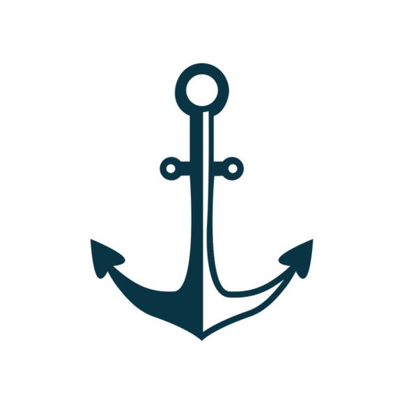Marine Icons Vector 1 Vector Anchor 1